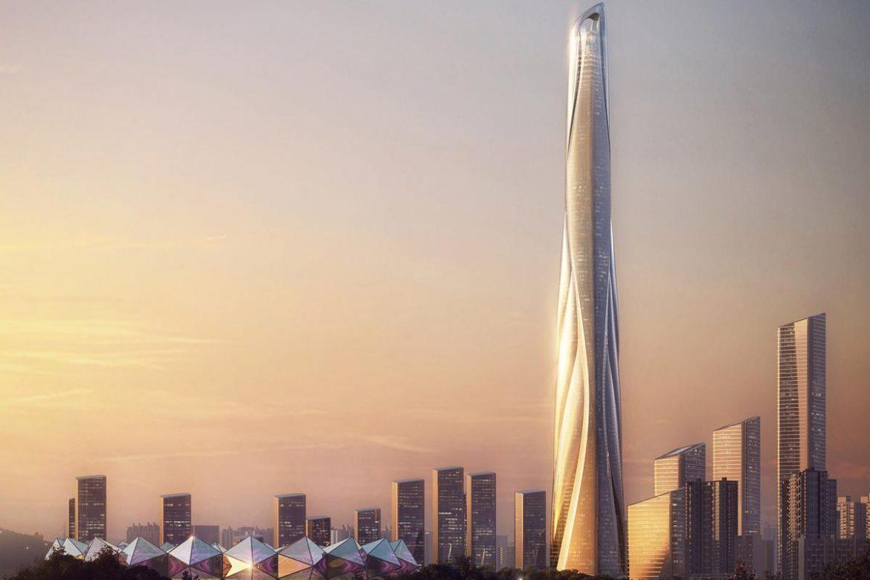 дубай строительство нового небоскреба
