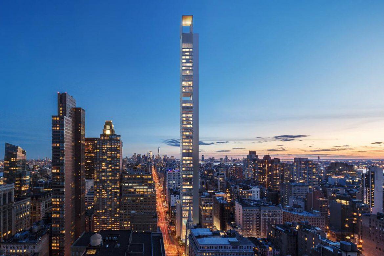 самый высокий небоскреб в Нью-Йорке