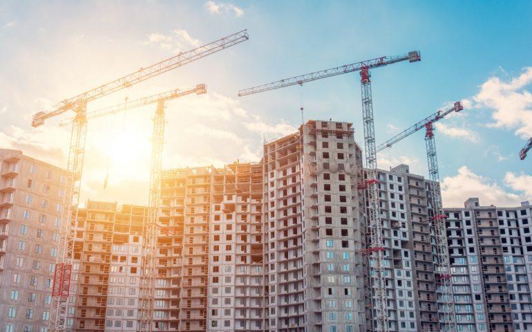 темпы строительства в России